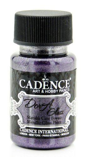 cadence dora peinture verre et porcel opag mtal orchide noire 01 013 3139 0050 50 ml