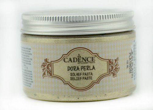 cadence dora perla met relief pasta platinum 01 083 0001 0150 150 ml