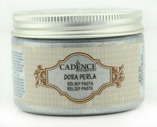 cadence dora perla met relief pasta zilver 01 083 0009 0150 150 ml