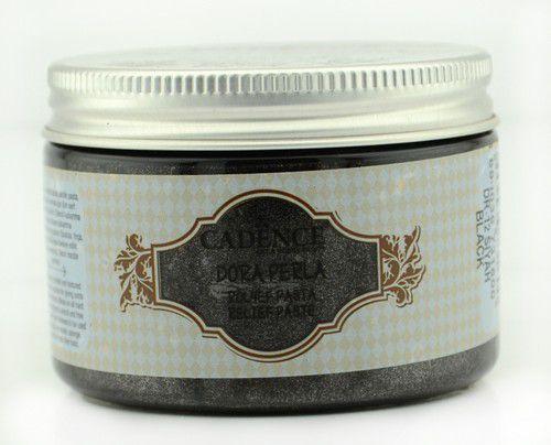 cadence dora perla met relief pasta zwart 01 083 0012 0150 150 ml