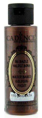 cadence gilding metallic acrylverf chocolade 01 035 0115 0070 70 ml 0321