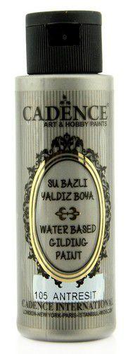 cadence gilding metallic peinture acrylique anthracite silver 01 035 0105 0070 70 ml 0321