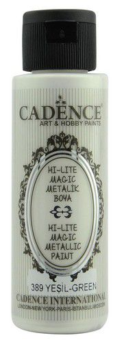 cadence hilite metallic verf groen 01 019 0389 0070 70 ml 0321