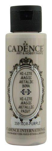 cadence hilite metallic verf paars 01 019 0359 0070 70 ml 0321