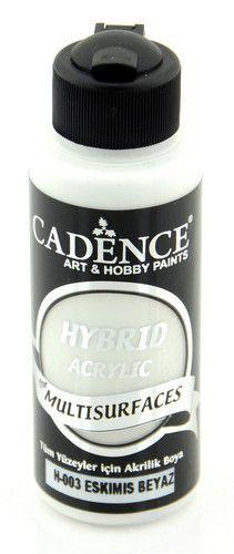 cadence hybrid acrylic paint semi matt ancient white 01 001 0003 0120 120 ml