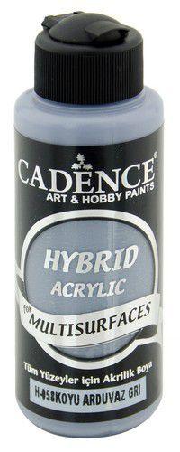 cadence hybrid acrylic paint semi matt dark slate gray 01 001 0058 0120 120 ml 0720