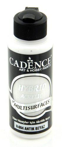 cadence hybride acrylverf semi mat antiek wit 01 001 0004 0120 120 ml