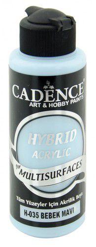 cadence hybride acrylverf semi mat baby blauw 01 001 0035 0120 120 ml