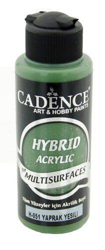 cadence hybride acrylverf semi mat bladgroen 01 001 0051 0120 120 ml