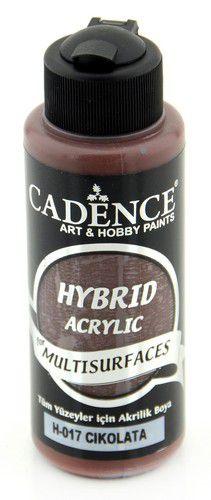 cadence hybride acrylverf semi mat chocolade 01 001 0017 0120 120 ml