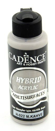 cadence hybride acrylverf semi mat colier brown 01 001 0022 0120 120 ml