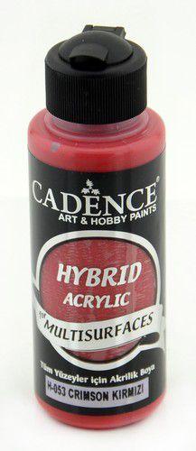 cadence hybride acrylverf semi mat crimson rood 01 001 0053 0120 120 ml