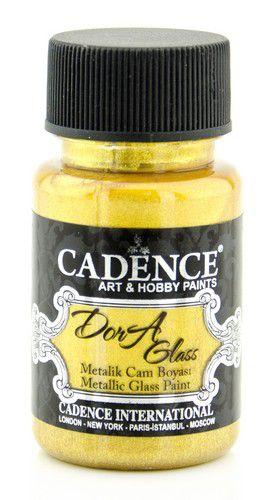 cadence dora glas porselein verf metallic rich gold 01 013 3136 0050 50 ml