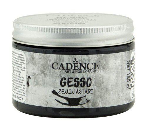 cadence peinture acrylique gesso noire 01 064 0002 0150 150ml