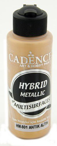 cadence peinture mtallique hybride semimat antique gold 01 008 0801 0120 120 ml 0321
