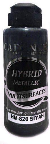 cadence peinture mtallique hybride semimat black 01 008 0820 0120 120 ml 0321