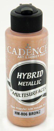 cadence peinture mtallique hybride semimat bronze 01 008 0806 0120 120 ml 0321