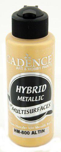 cadence peinture mtallique hybride semimat gold 01 008 0800 0120 120 ml 0321