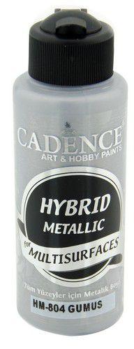 cadence peinture mtallique hybride semimat silver 01 008 0804 0120 120 ml 0321
