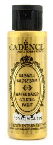 cadence pure gold gilding metallic peinture pure gold 01 040 0120 0070 70 ml 0321