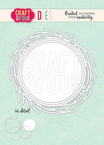 craftyou cutting die nest frames cw117 0421