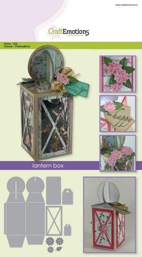 craftemotions die lantern box card a5 box 58x160x58 mm
