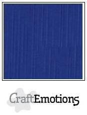 craftemotions linge carton 10 pc bleu 305x305cm lc46