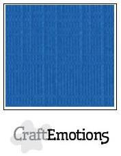 craftemotions linge carton 10 pc bleu de signal 305x305cm lc15