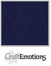 craftemotions linge carton 10 pc bleu fonc 305x305cm lc05