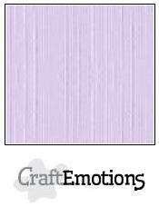 craftemotions linge carton 10 pc lavande pastel 305x305cm lc59