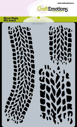 craftemotions mask stencil cars traces de pneus a6 carla creaties 0621