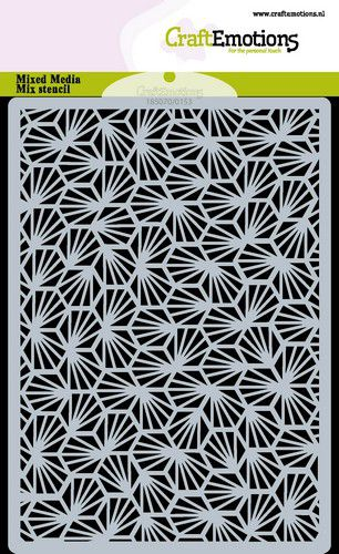 craftemotions mask stencil rayons nid dabeille a6 0521