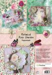 CraftEmotions Paper stack Botanical Rose Garden 11 sheets A4