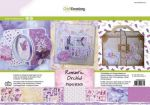 CraftEmotions Paper stack Romantic orchid 11 sheets A4