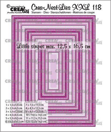 crealies creanestdies xxl rectangles clnestxxl118 125x165cm 0521