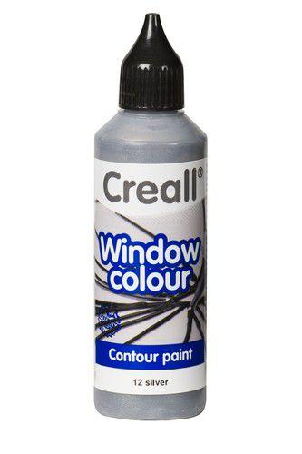 creall glass contour fentre sticker peindre silver 1 fl 20112