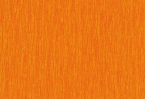 folia crepepaper pure orange 250x50cm