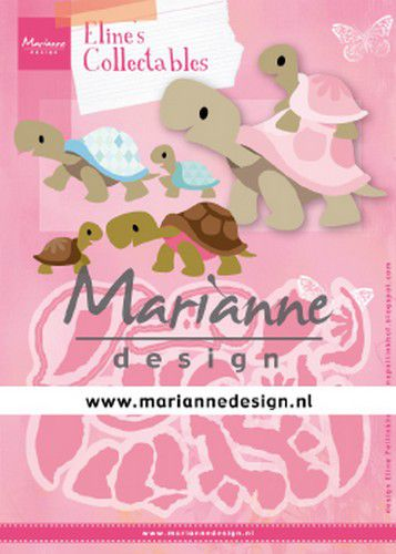 marianne d collectable elines turtles col1480 112x85mm