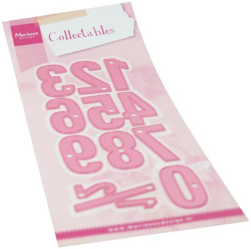 marianne d collectable numbers xl col1485 36x20mm