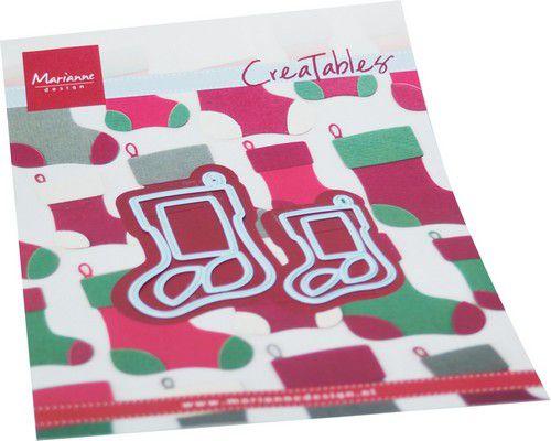 marianne d creatable christmas socks lr0733 110x160mm 0921
