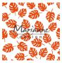Marianne D Embossing folder Tropical leaves DF3449 141x141mm