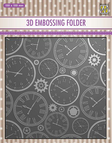 nellies choice 3d emb folder time ef3d031 150x150mm 0821