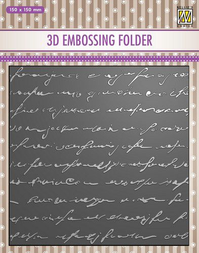 nellies choice 3d emb folder writing ef3d029 150x150mm 0821