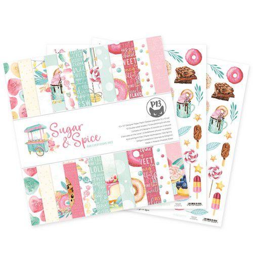 piatek13 paper pad sugar and spice 12x12 p13sas08 0621