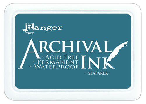 ranger archival ink pad seafarer aip70795