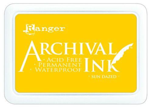 ranger archival ink pad sun dazed aip70818