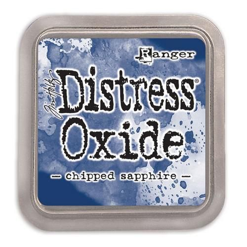 ranger distress oxide chipped sapphire tdo55884 tim holtz