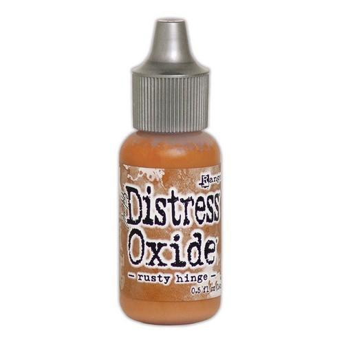 ranger distress oxide re inker 14 ml rusty hinge tdr57260 tim holtz