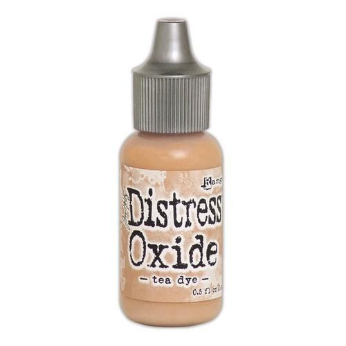 ranger distress oxide re inker 14 ml tea dye tdr57376 tim holtz