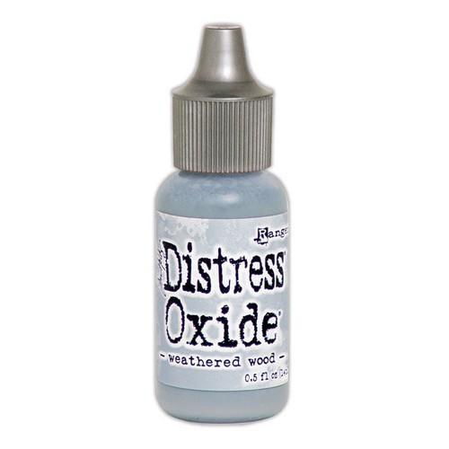 ranger distress oxide re inker 14 ml weathered wood tdr57437 tim holtz
